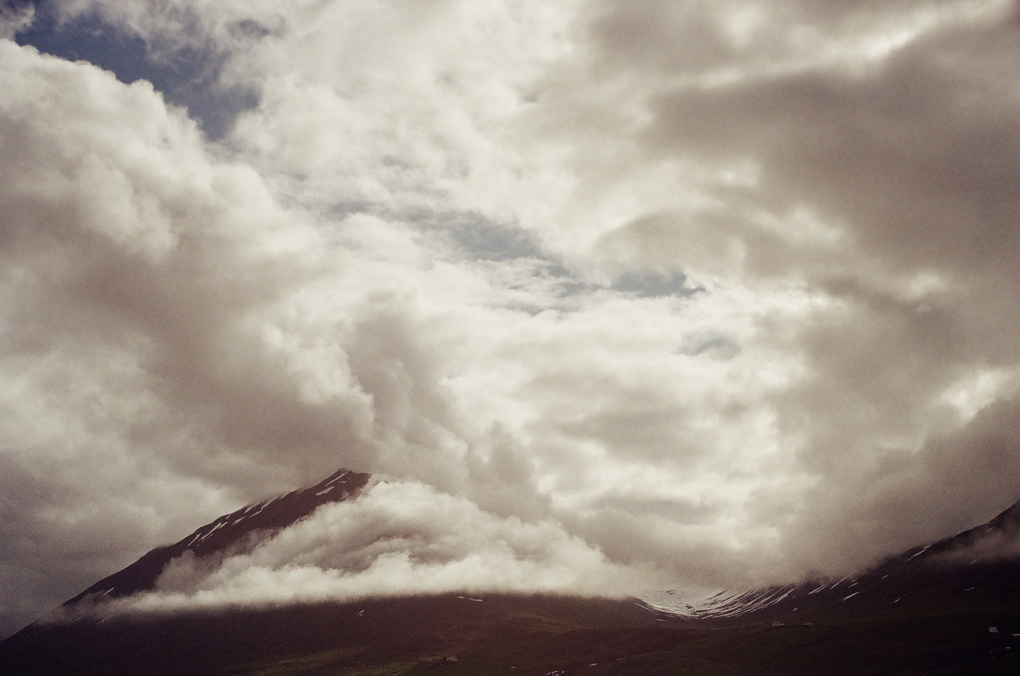 Mountain-clouds