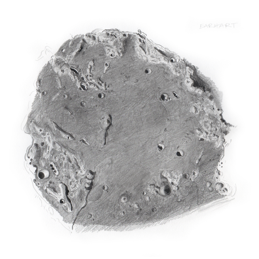 Bettina Forget - Earhart Crater