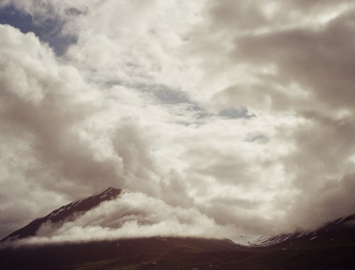 Bettina Forget - Olafsfjordur-Mountain Clouds 2