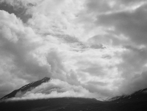 Olafsfjordur-Mountain Clouds Bettina Forget